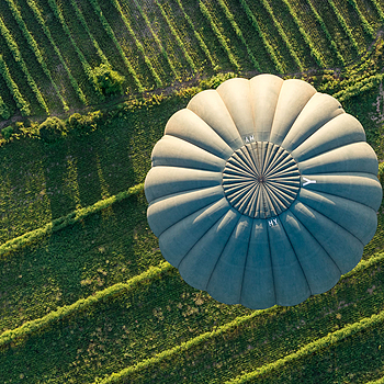 Balloon from above | ZEISS SONNAR 55MM F1.8 FE ZA
