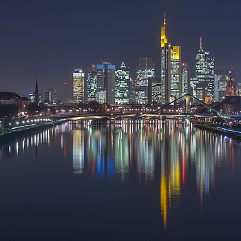 Frankfurt skyline | ZEISS SONNAR 55MM F1.8 FE ZA <br> Click image for more details, Click <b>X</b> on top right of image to close