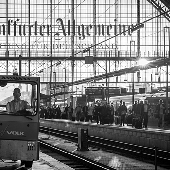 Frankfurt Main Station | ZEISS 85MM F1.8 SONNAR <br> Click image for more details, Click <b>X</b> on top right of image to close