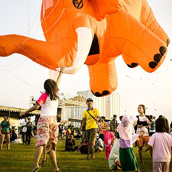 Every Children having fun at Kites Festival | LENS MODEL NOT SET <br> Click image for more details, Click <b>X</b> on top right of image to close