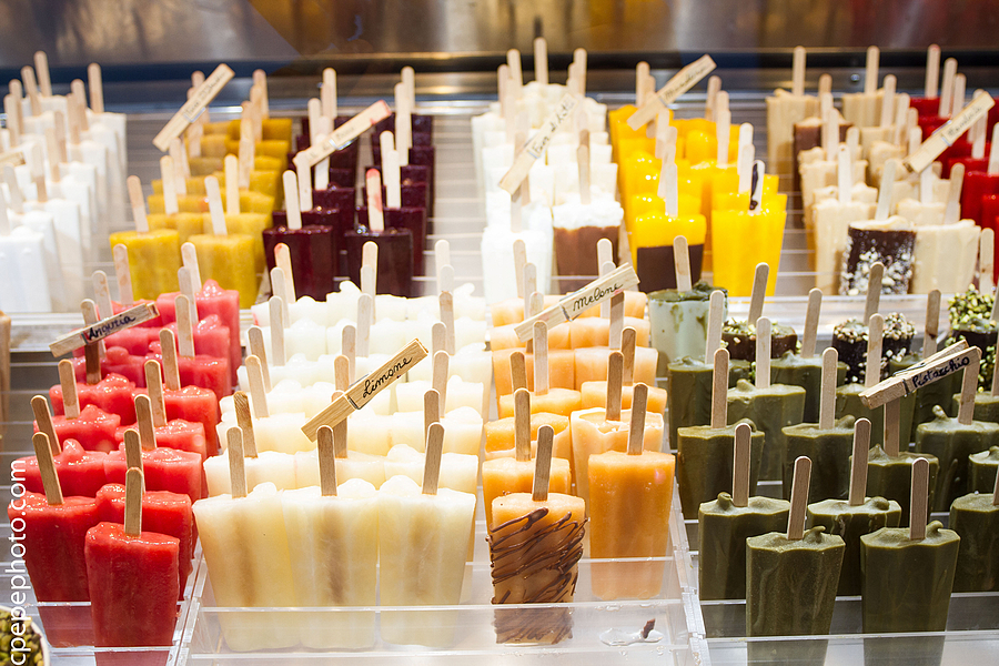 Popsicles in Taormina | ZEISS DISTAGON F2.8 21MM <br> Click image for more details, Click <b>X</b> on top right of image to close