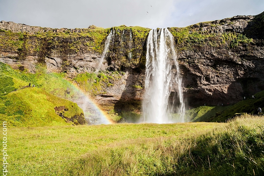 Seljalandsfoss Rainbow | ZEISS DISTAGON F2.8 21MM <br> Click image for more details, Click <b>X</b> on top right of image to close