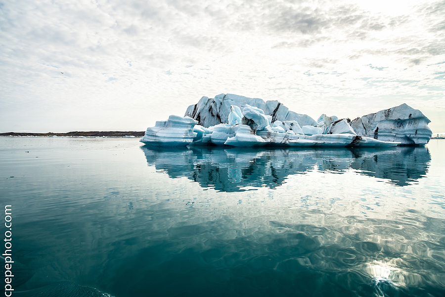 Jokulsarlon Black Icebergs | ZEISS DISTAGON F2.8 21MM <br> Click image for more details, Click <b>X</b> on top right of image to close