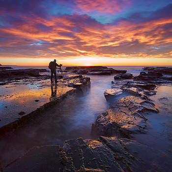 Seascape photographer