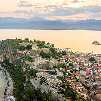 Nafplio from the fortress | ZEISS FE 35MM F2.8 ZA