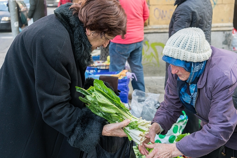 Farmers market in Sarajevo | ZEISS SONNAR 55MM F1.8 FE ZA <br> Click image for more details, Click <b>X</b> on top right of image to close