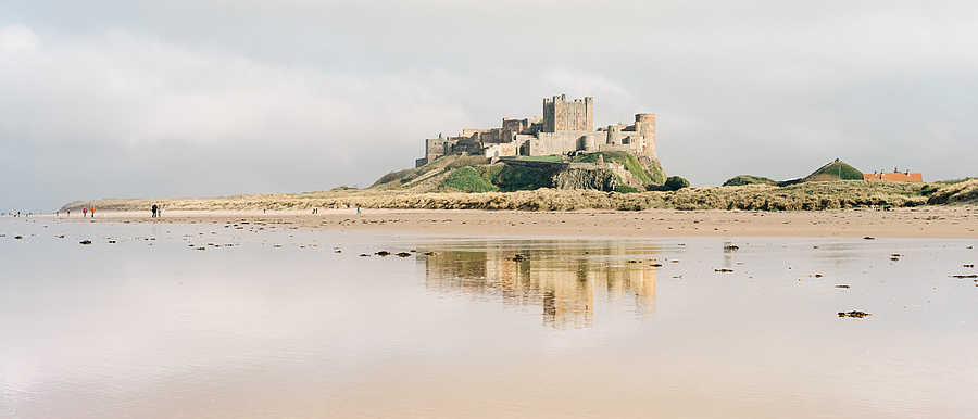Bamburgh Castle | ZEISS SONNAR 55MM F1.8 FE ZA <br> Click image for more details, Click <b>X</b> on top right of image to close