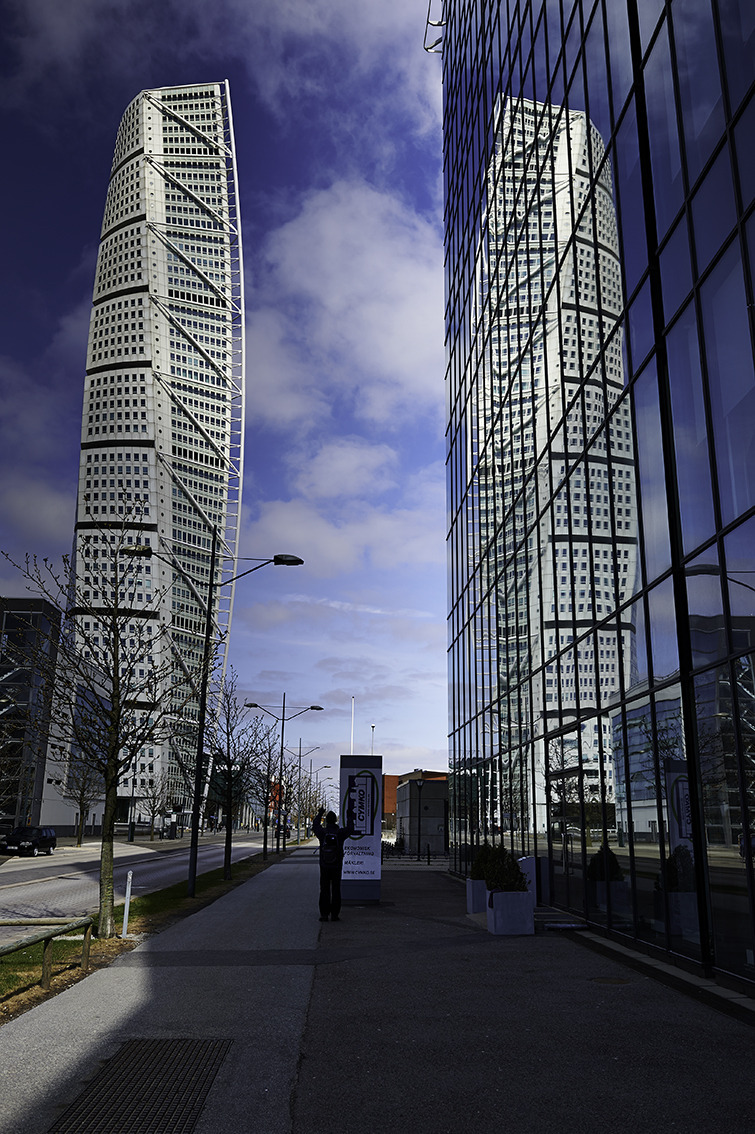 Turning Torso | LENS MODEL NOT SET <br> Click image for more details, Click <b>X</b> on top right of image to close