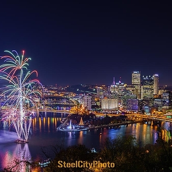 Light Up Night, Pittsburgh, PA | ZEISS DISTAGON 35MM F1.4 FE ZA <br> Click image for more details, Click <b>X</b> on top right of image to close