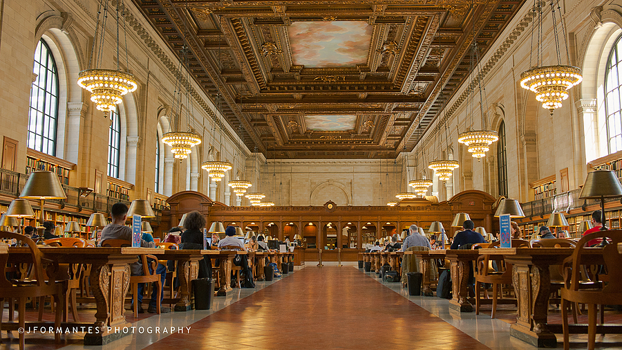 New York Public Library | ZEISS DISTAGON F2.0 35MM <br> Click image for more details, Click <b>X</b> on top right of image to close