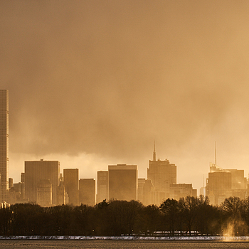 Clearing Storm over Manhattan | ZEISS TOUIT F2.8 50MM MACRO