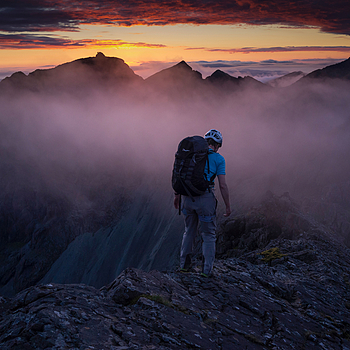Black Cuillin, Red Skye | LENS MODEL NOT SET <br> Click image for more details, Click <b>X</b> on top right of image to close
