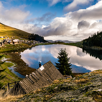 Prokosko lake | ZEISS VARIO-TESSAR T* FE 16-35MM F4 ZA OSS <br> Click image for more details, Click <b>X</b> on top right of image to close