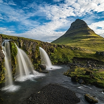 Kirkjufell, Iceland | ZEISS MILVUS 21MM F2.8 <br> Click image for more details, Click <b>X</b> on top right of image to close