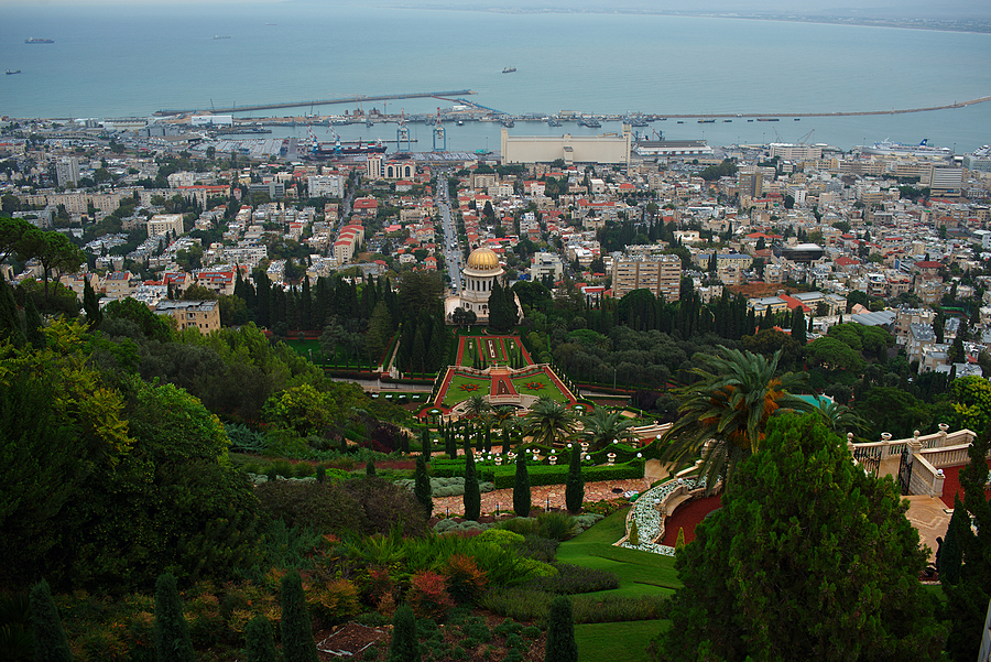 Bahai gardens | ZEISS DISTAGON F2.0 35MM <br> Click image for more details, Click <b>X</b> on top right of image to close