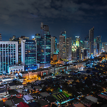 Manila at night | ZEISS 25MM F2 DISTAGON <br> Click image for more details, Click <b>X</b> on top right of image to close