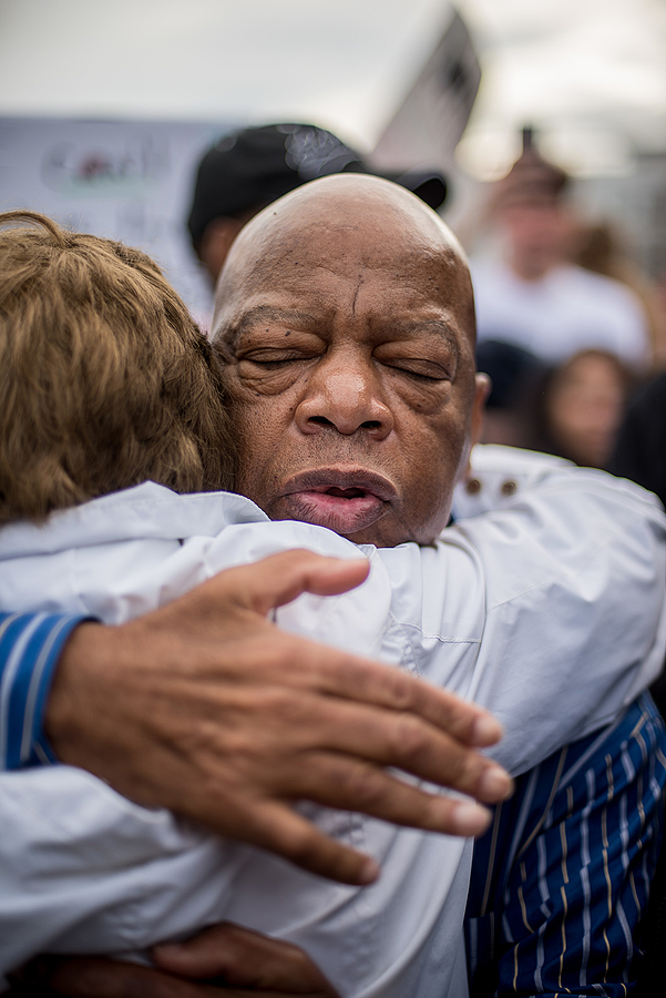 Congressman John Lewis | LENS MODEL NOT SET <br> Click image for more details, Click <b>X</b> on top right of image to close