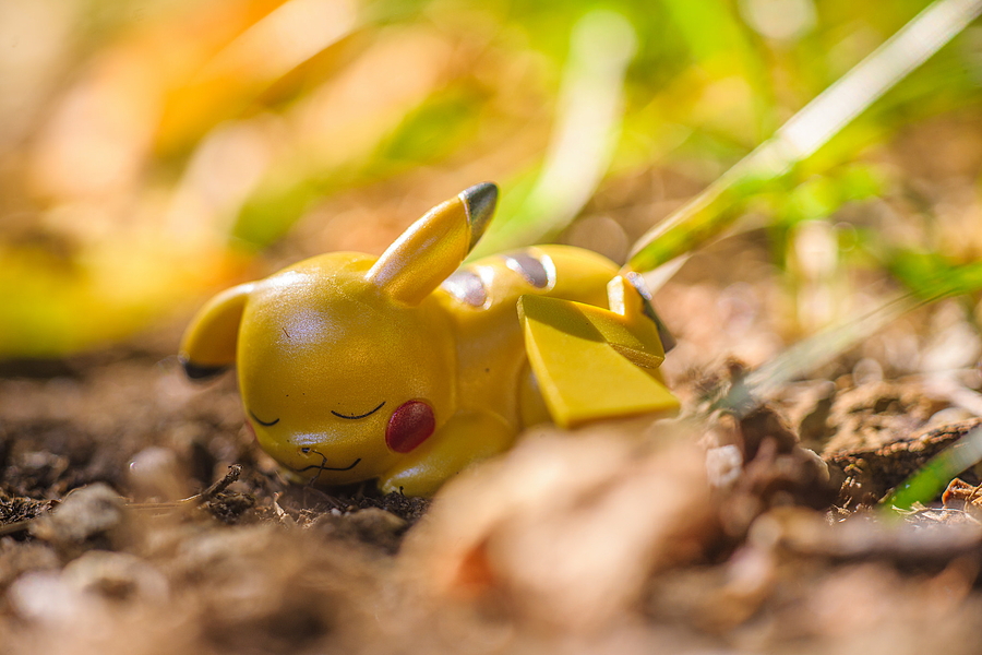 Resting Pikachu | LENS MODEL NOT SET <br> Click image for more details, Click <b>X</b> on top right of image to close