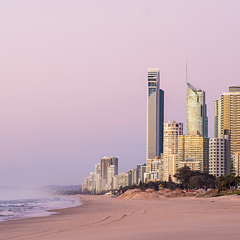 Surfers Paradise Sunrise | LENS MODEL NOT SET <br> Click image for more details, Click <b>X</b> on top right of image to close