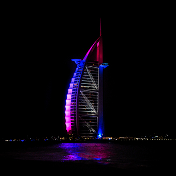 The Burj Al Arab | LENS MODEL NOT SET <br> Click image for more details, Click <b>X</b> on top right of image to close