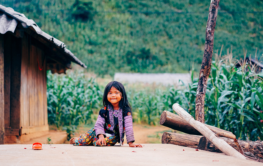 A little girl on mountainous area | LENS MODEL NOT SET <br> Click image for more details, Click <b>X</b> on top right of image to close