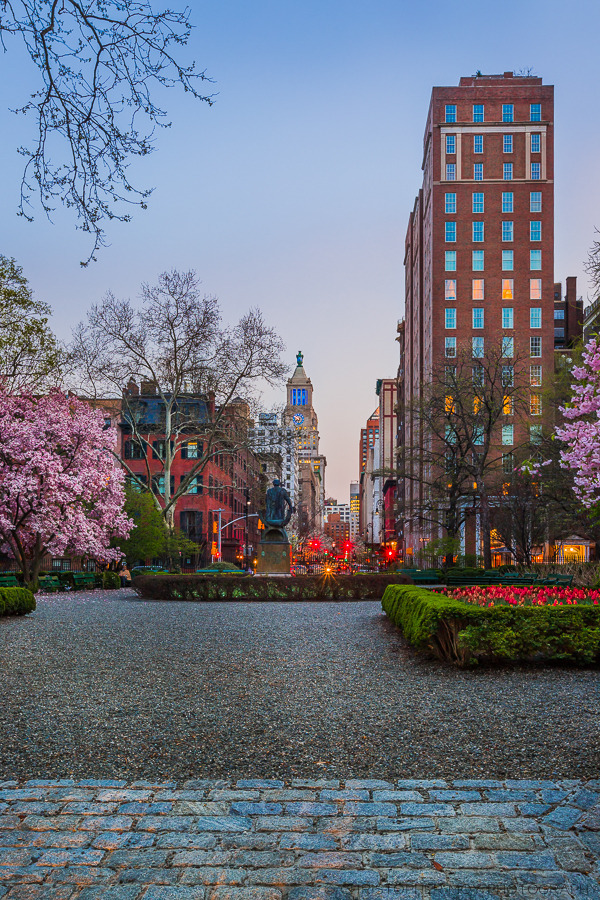 Spring Time at Gramercy Park | LENS MODEL NOT SET <br> Click image for more details, Click <b>X</b> on top right of image to close