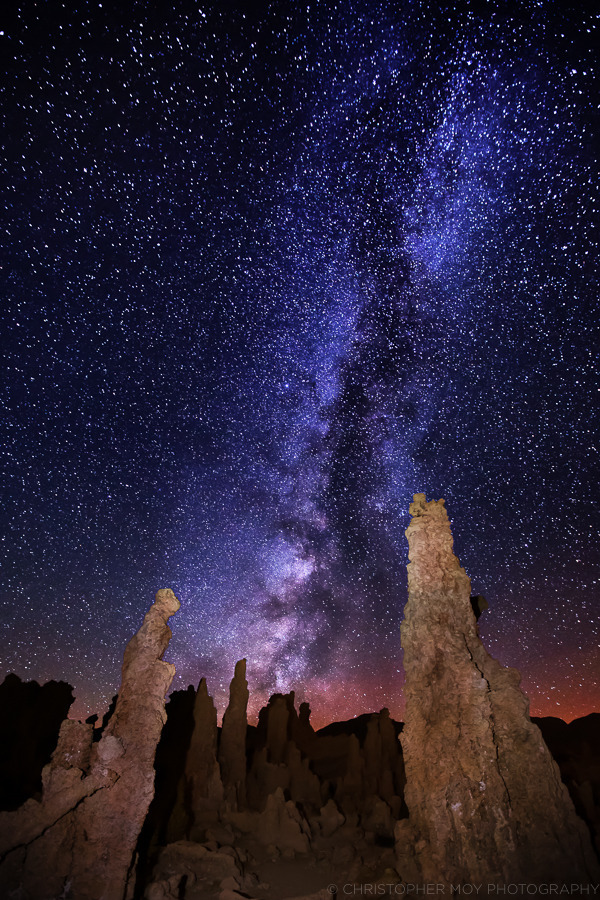 The Milky Way over Mono Lake | LENS MODEL NOT SET <br> Click image for more details, Click <b>X</b> on top right of image to close