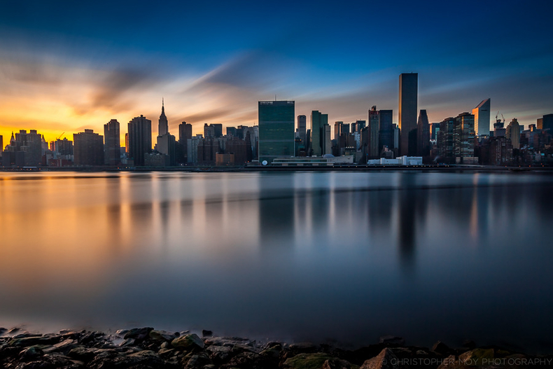 Sunset from Long Island City | LENS MODEL NOT SET <br> Click image for more details, Click <b>X</b> on top right of image to close
