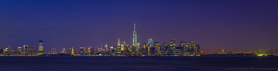 NYC Nightscape | LENS MODEL NOT SET <br> Click image for more details, Click <b>X</b> on top right of image to close