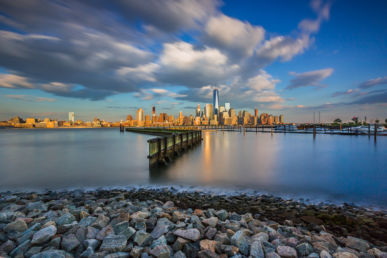 Lower Manhattan from Newport NJ | LENS MODEL NOT SET <br> Click image for more details, Click <b>X</b> on top right of image to close