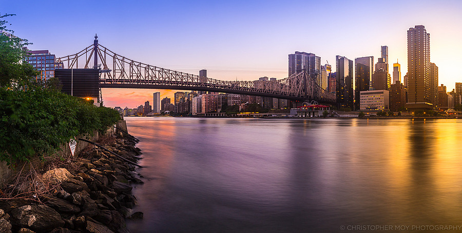 Sunset from Roosevelt Island | LENS MODEL NOT SET <br> Click image for more details, Click <b>X</b> on top right of image to close