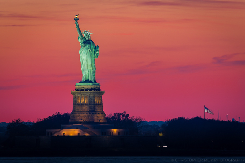 The Beautiful Lady Liberty | LENS MODEL NOT SET <br> Click image for more details, Click <b>X</b> on top right of image to close