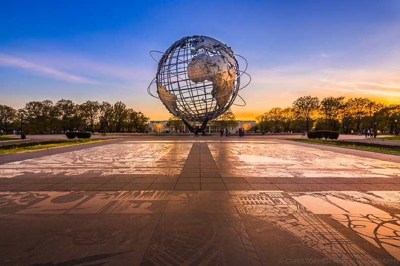 Unisphere | LENS MODEL NOT SET <br> Click image for more details, Click <b>X</b> on top right of image to close