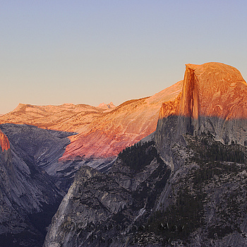 Sunset over Half Dome | LENS MODEL NOT SET