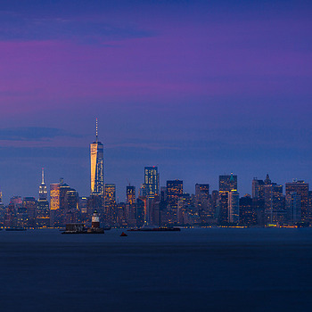 A Hazy NYC Sunset | LENS MODEL NOT SET <br> Click image for more details, Click <b>X</b> on top right of image to close