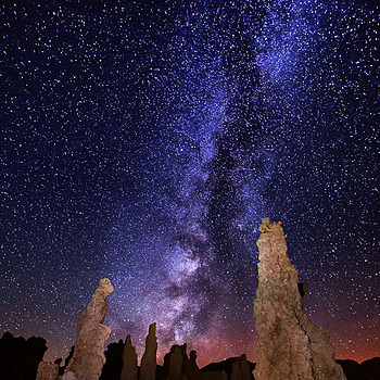 The Milky Way over Mono Lake | LENS MODEL NOT SET