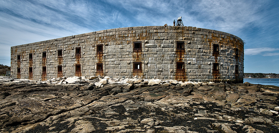 Fort Popham, Maine | ZEISS ZA VARIO-SONNAR F2.8 16–35MM <br> Click image for more details, Click <b>X</b> on top right of image to close