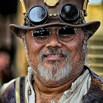 Steampunk at the So Cal Renaissance Faire | ZEISS APO SONNAR F2 135MM