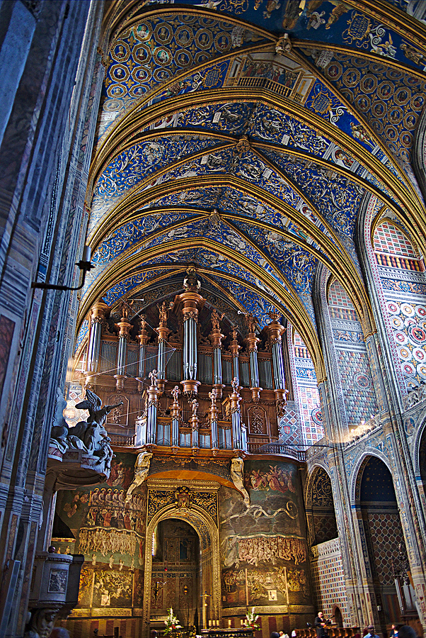 Sainte-Cecile Cathedral - Albi | ZEISS DISTAGON F2 28MM <br> Click image for more details, Click <b>X</b> on top right of image to close