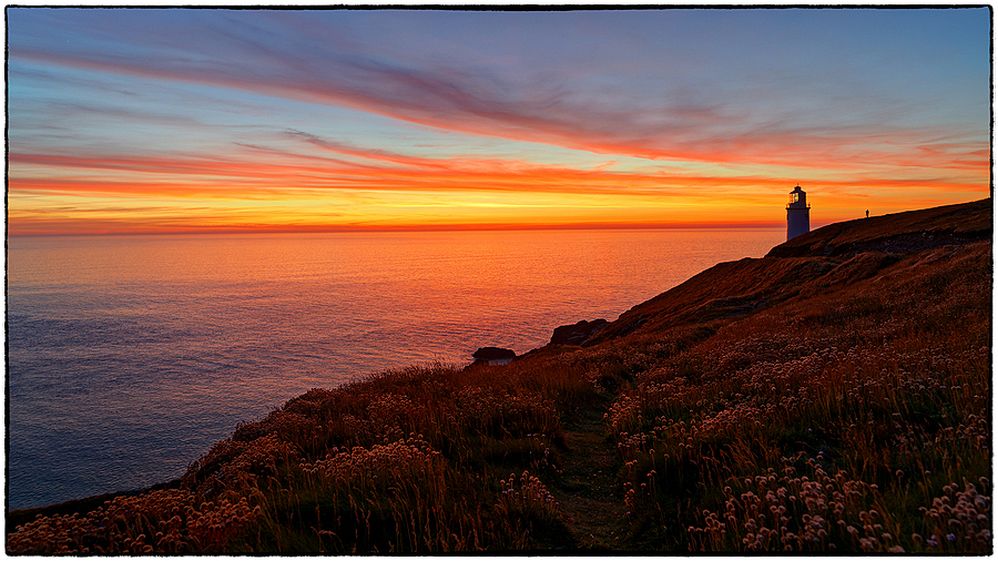 The Lighthouse on Trevose Head, North Cornwall, England | ZEISS DISTAGON F2.8 21MM <br> Click image for more details, Click <b>X</b> on top right of image to close