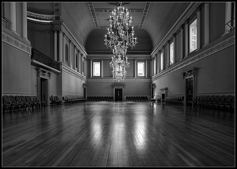 The Ball Room, Assembly Rooms, City of Bath, Somerset, England"