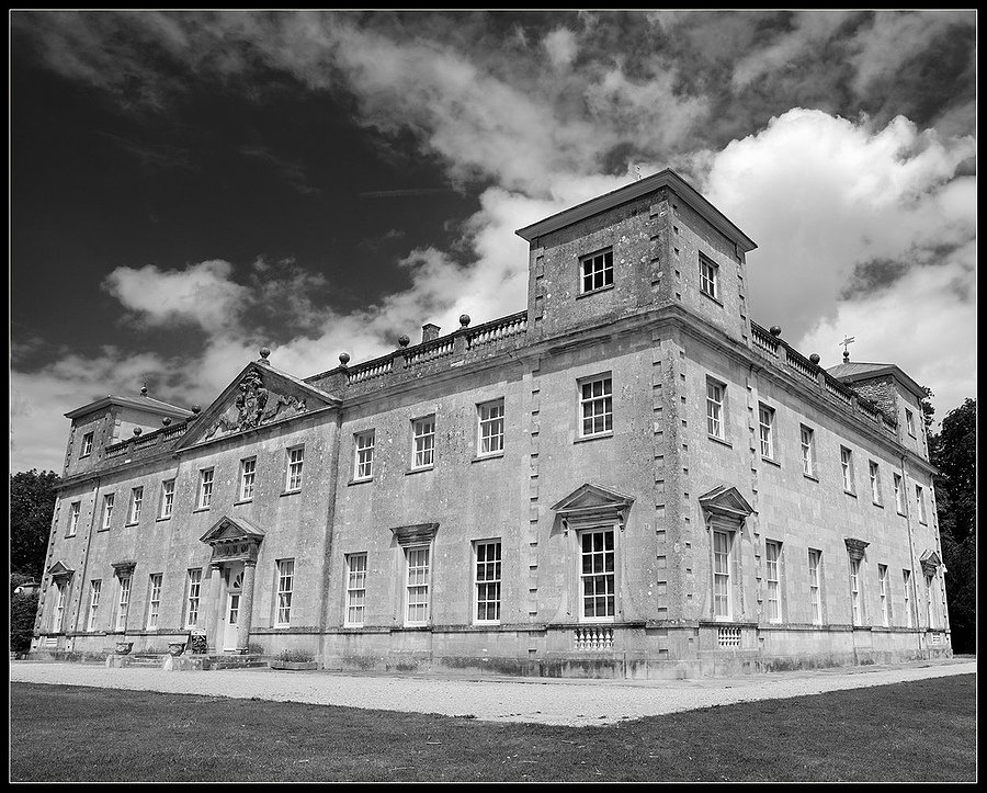 """Lydiard House, Wiltshire, England"" 