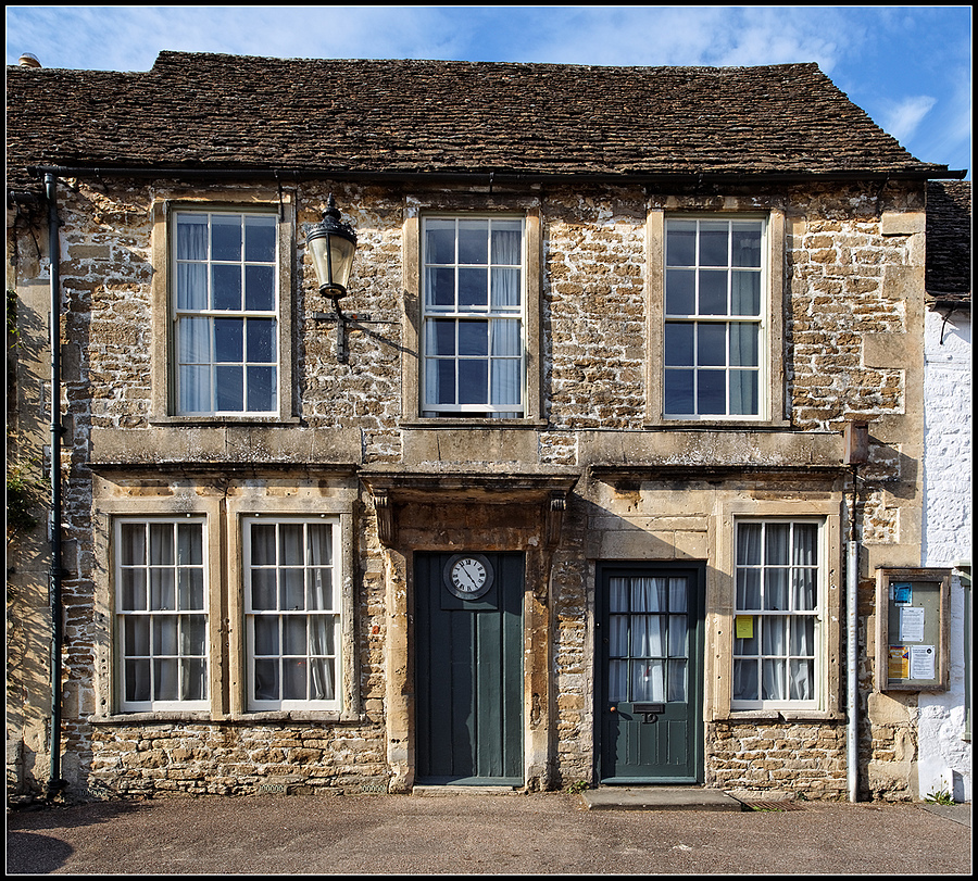 """18th Century Property, High Street, Lacock, Wiltshire, England"" 
