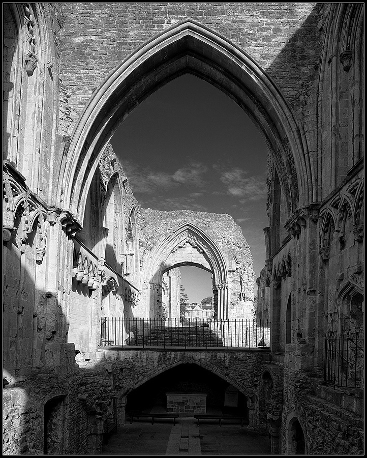 """Lady Chapel, Glastonbury Abbey, Somerset, England"" 