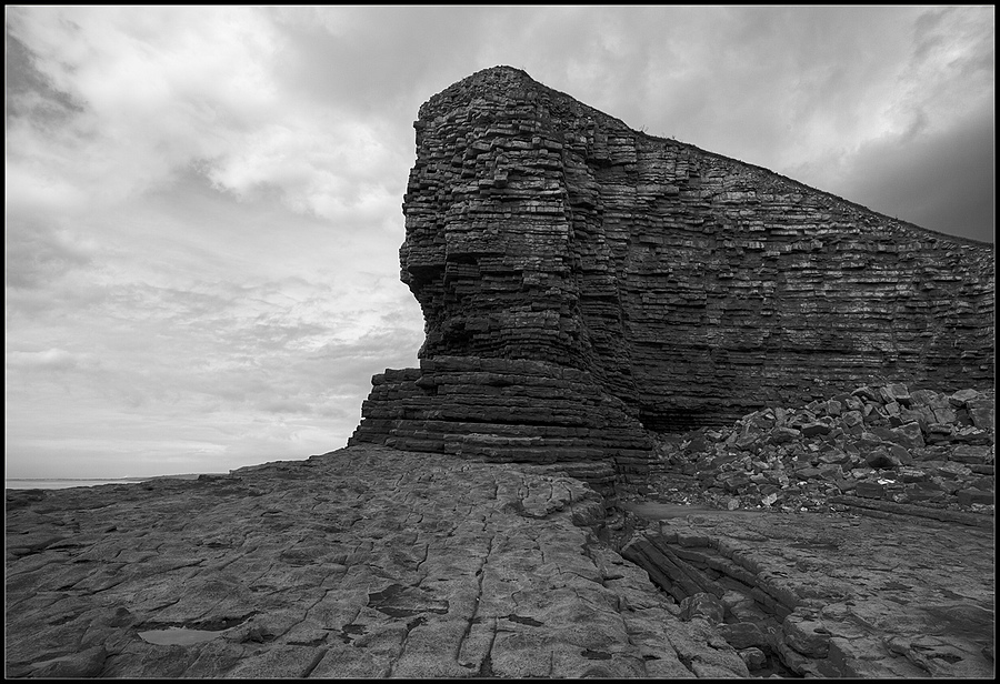"""Nash Point, Llantwit Major, Vale of Glamorgan, Wales"" 