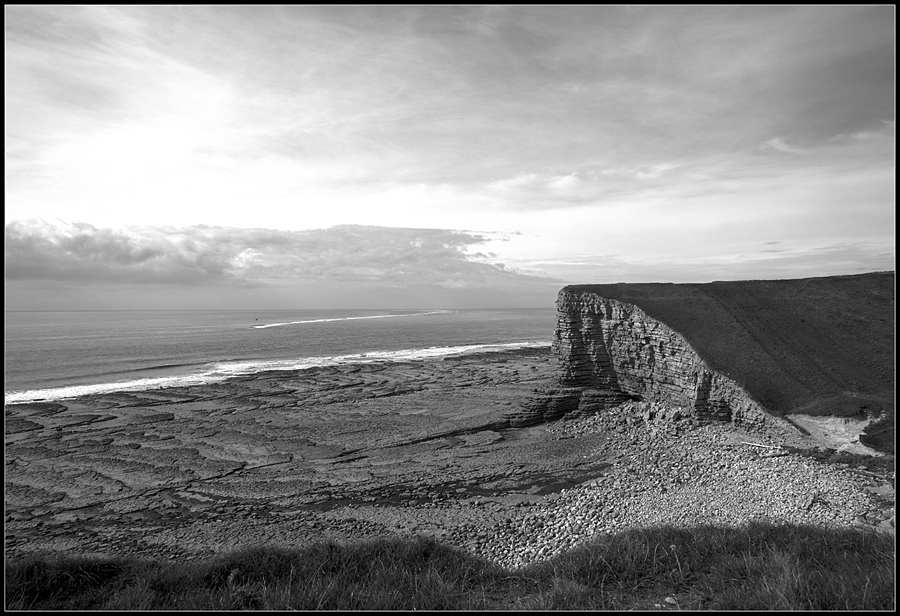 """Glamorgan Heritage Coast from Nash Point, Wales, UK"" 
