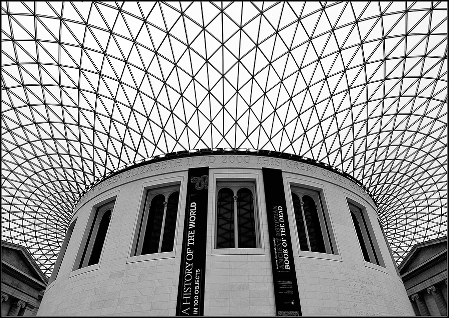 Queen Elizabeth II Great Court,British Museum, London | ZEISS DISTAGON F2.8 21MM <br> Click image for more details, Click <b>X</b> on top right of image to close
