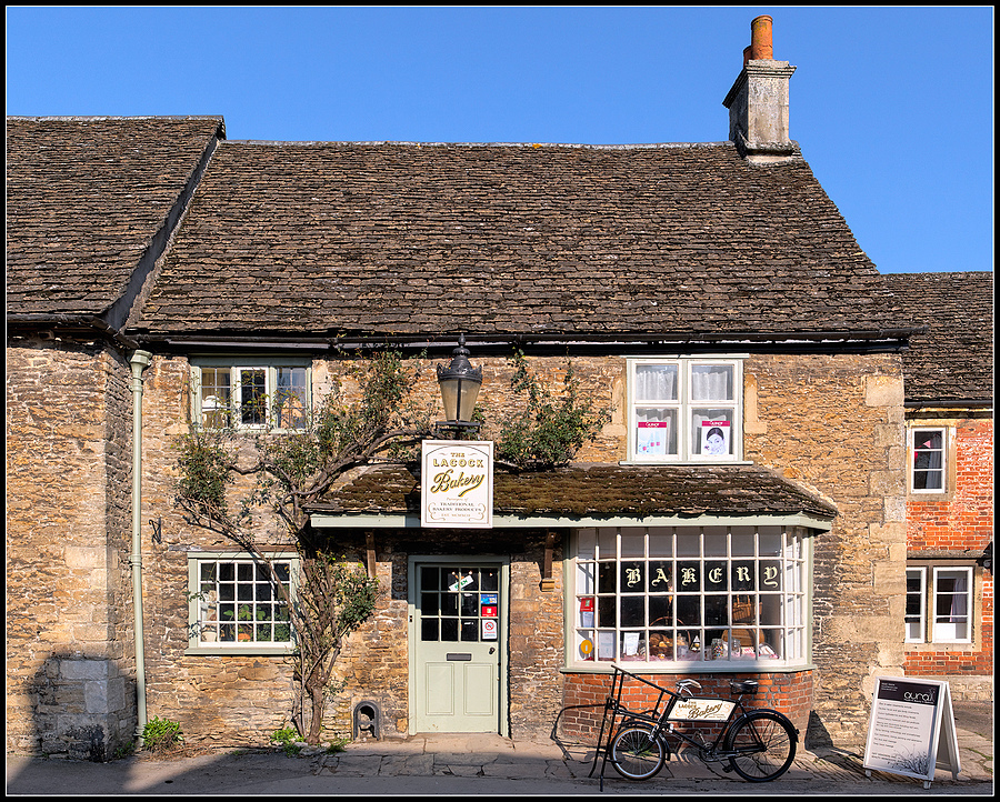 The Lacock Bakery, Wiltshire, England | LENS MODEL NOT SET <br> Click image for more details, Click <b>X</b> on top right of image to close