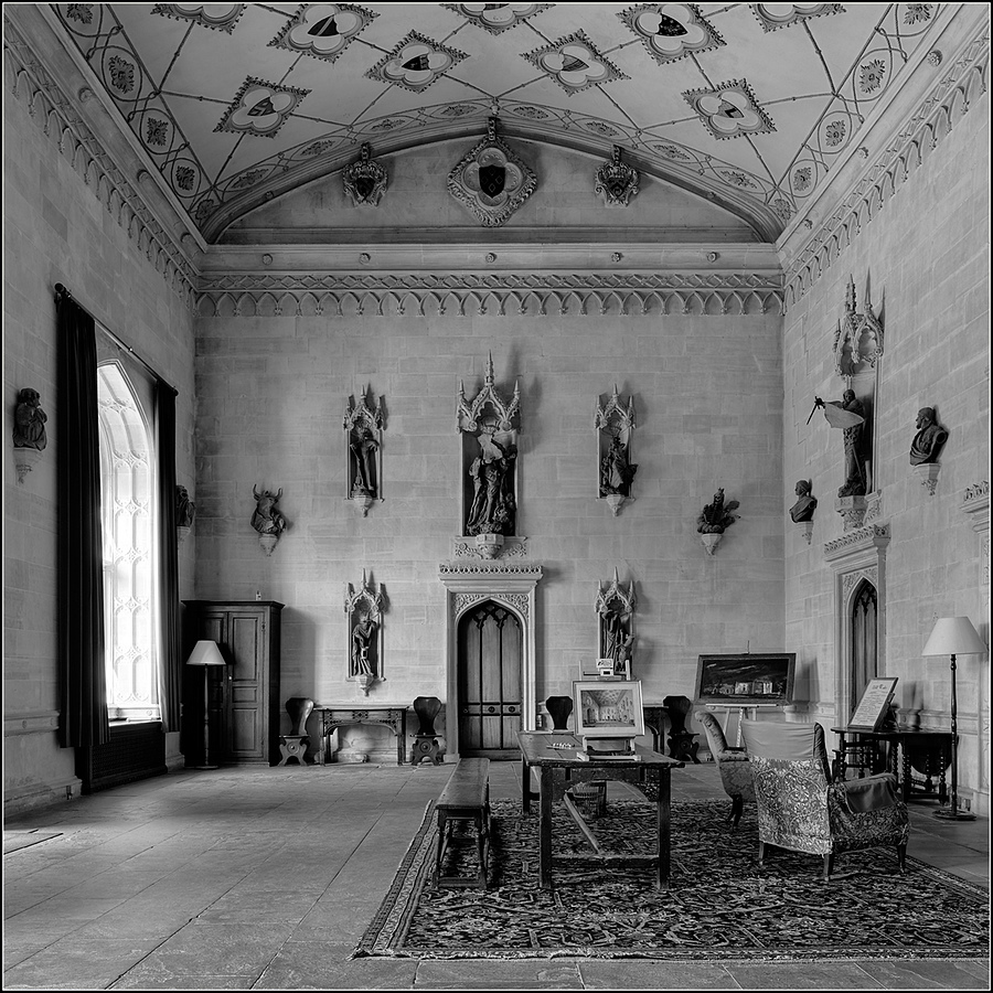 The Great Hall, Lacock Abbey, Wiltshire, England | ZEISS DISTAGON F2.8 21MM <br> Click image for more details, Click <b>X</b> on top right of image to close