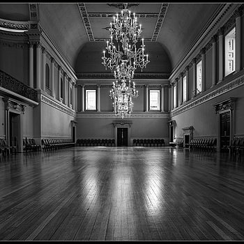 The Ball Room, Assembly Rooms, City of Bath, Somerset, England""